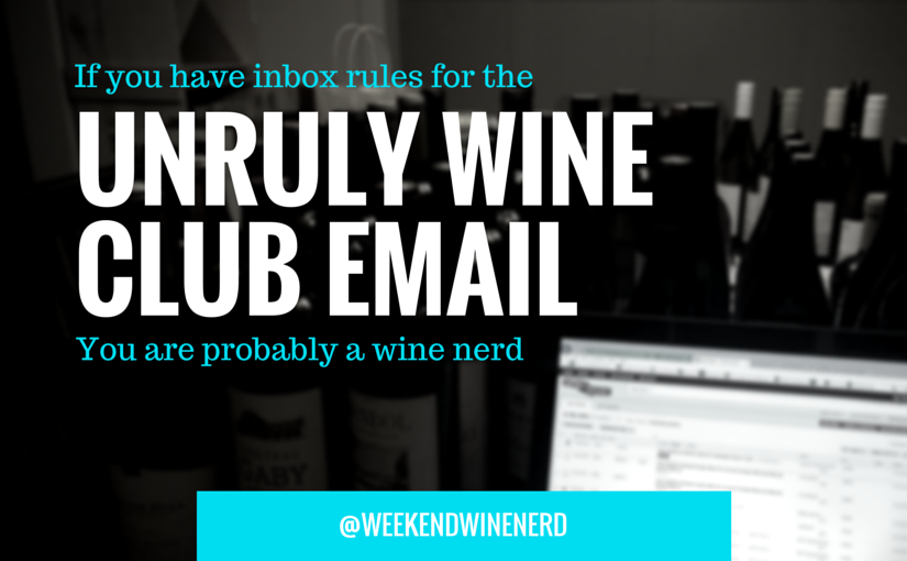 You are probably a wine nerd